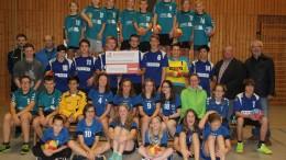 Bürgerdienst e.V. unterstützt Handballabteilung des SV Gerolstein Gerolsteiner Handballer im Glück Punkt, Satz und Sieg für den SV Gerolstein 1919 e.V.