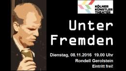 Unter Fremden (Theaterstück, Unterstützt vom Bürgerdienst e.V.)