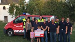 BÜRGERDIENST e.V. unterstützt die Freiwillige Feuerwehr Wiesbaum bei der Anschaffung eines neuen Transportfahrzeugs